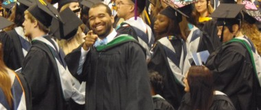 Devon ODU Graduation