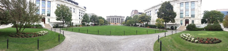 Panoramic view of Harvard Medical School