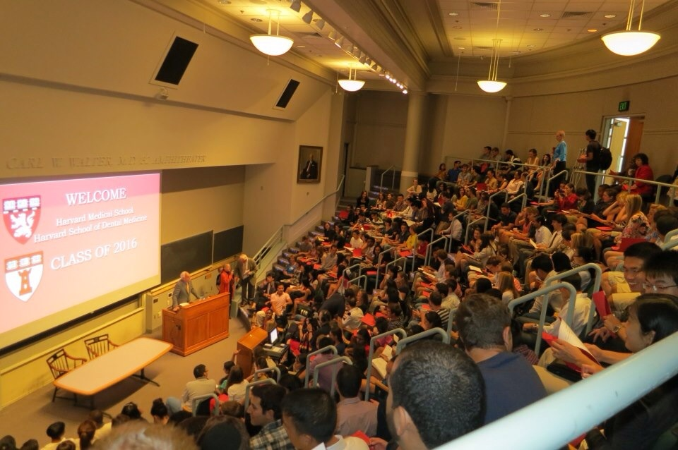 Lecture Hall during White Coat Day 2012