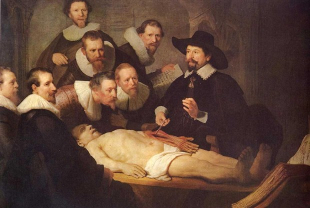 The Anatomy Lesson of Dr. Tulp, Rembrandt van Rijn