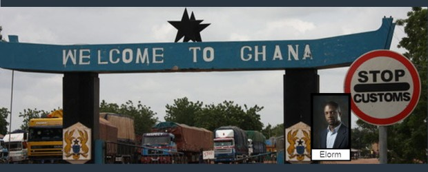 Welcome to Ghana sign