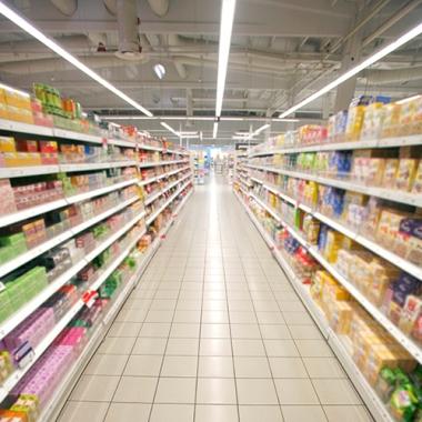 grocery aisle